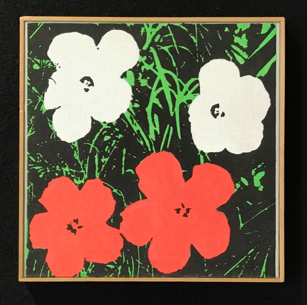 Warhol Flowers 1964