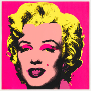 Andy Warhol - MM Pink