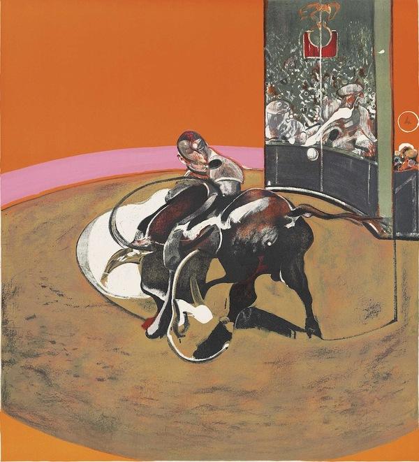 Study For Bullfight 1