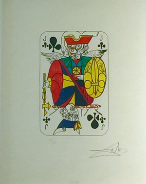 Playing Cards - Jack Of Clubs