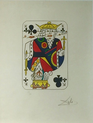 Playing Cards - King Of Clubs